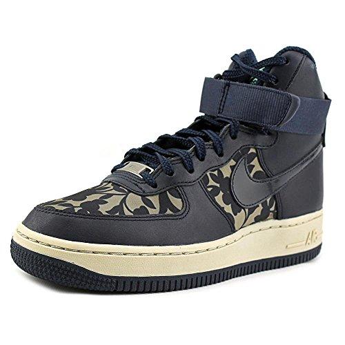 Nike Donna Wmns Air Force 1hi Lib Qs scarpe sportive Marrone (Marrón (Cargo Khaki / Obsidian))