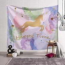 Lihan Tapicería Tapiz Fiesta de cumpleaños Infantil Indian Bohemio Elefante Hippie Mandala Pared Estampado Floral Decoración