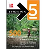 5 Steps to a 5 500 AP Human Geography Questions to Know by Test Day (5 Steps to a 5: AP Human Geography) (Paperback) - Common