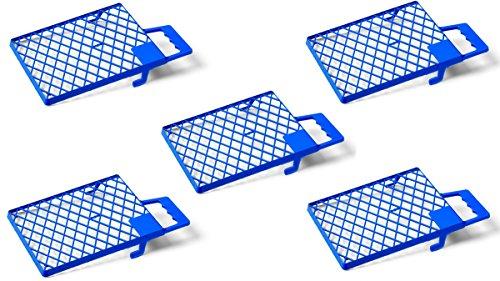 Schuller Eh'klar 40431 Abstreifgitter Blau 5 Stück, 27x29cm