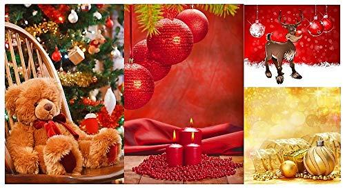 Unbekannt geschenktüten Large (Grande) Noël Cadeau Sac Sachet Pochette Sac Pochette Cadeau de Noël 749 48 Stück