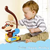 Swinging Monkey With Lights, Music And R...