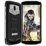 Blackview BV5800 Pro Smartphone Incassable Etanche, Batterie 5580mAh + Chargeur sans Fil Fonction (Non Inclus), 5.5' Pouces, Android 8.1, 2GB RAM + 16GBROM, Sony Caméra 13MP+8MP+0.3MP Noir
