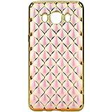 Back Case Luxury–Funda Carcasa de silicona Gel para Samsung Galaxy J52016acolchada funda Flip cover funda de silicona