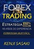 FOREX TRADING ESTRATEGIA 100% ÉXITO: Vive del Forex, Estrategia muy Fácil, Trader con Más de 40 Años de Experiencia, Sistema de Trading Diario
