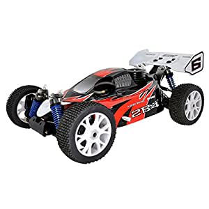 RC system - BUGGY 2B4 rouge 4X4 SUPER COMBO