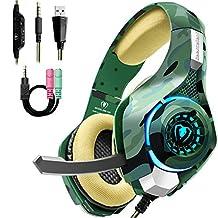 Beexcellent GM-100 Gaming Headset, Grön