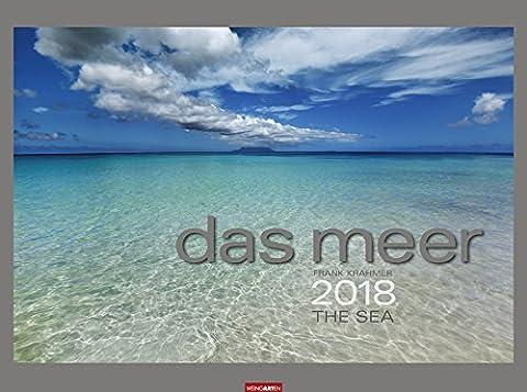 Das Meer - Kalender 2018 - Weingarten-Verlag - Frank Krahmer - Wandkalender mit edlem Silberdruck - 78 cm x 58 cm