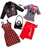 Barbie FKT28 Fashions 2er-Pack Puppe, rot