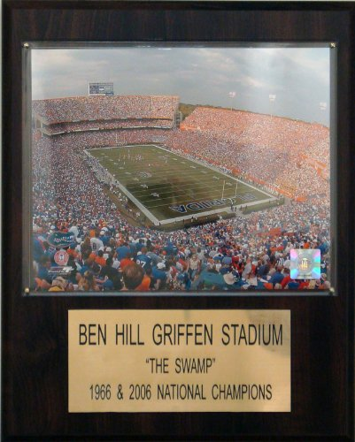 C & I Collectables NCAA Football Ben Hill Griffin Stadium Stadium Spieler Plaque -