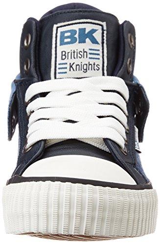 British Knights Roco Garçons Baskets Montante BLEU MARINE/BLEU