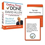 Getting Things Done - 64 Productivity Cards: The Art of Stress-Free Productivity