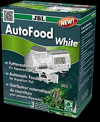 JBL- Futterautomat AutoFood Weiss Futterautomat für Aquarienfische