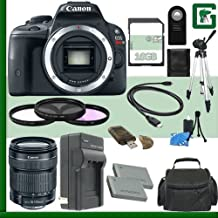 Canon EOS Rebel SL1 Digital SLR Camera And Canon 18-135mm STM Lens + 16GB Green's Camera Package 2