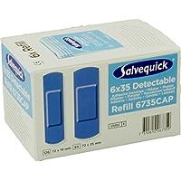 Salvequick Pflasterspender und refill - verschiedene Sorten (Karton á 6 refills, hellblau (detectable) - Ref.... preisvergleich bei billige-tabletten.eu