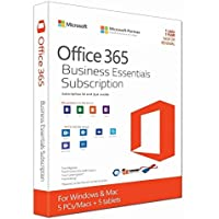 Microsoft Office 365 Business Essentials Subscription Only Web Version(Cd) 1 Year I User