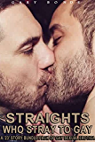 Straights Who Stray to Gay: A '23 Story' Bundle Pack of Gay Sexual Erotica