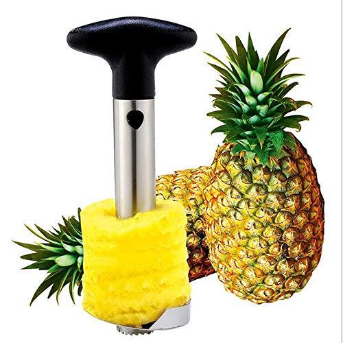 WSJS Ananas-Schälschen-Cutterschneider Edelstahl Ananas-Messer Fruchtwerkzeug...