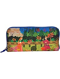 Eco Corner - Indian Art Garden - Hand Clutch - 100% Cotton / Washable / Eco Friendly / Premium Quality / Printed...