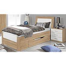 Suchergebnis Auf Amazonde Für Bett Eiche Sonoma 100x200