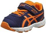 Asics Gt-1000 5 TS, Zapatillas Infantil, Azul (Indigo Blue/Hot Orange/Thunder Blue), 19.5 EU