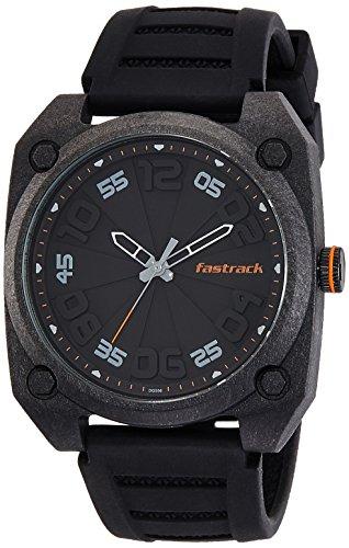 Fastrack Analog Black Dial Men's Watch-38031PP01J image