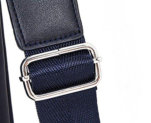 Borsa A Tracolla Degli Uomini Borsa Impermeabile Oxford Tessuto Imbottito Business Bag Borsa Borsa Trasversale Borsa Fashion Casual Blue2