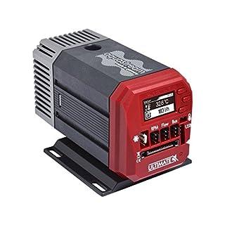 Aqua Computer aquastream Ultimate Pumpe–Lüfter, refoidisseurs und Heizkörper (Pumpe, Schwarz, Rot, 25W, 1,5A, 75mm, 118mm)