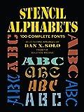 Image de Stencil Alphabets: 100 Complete Fonts