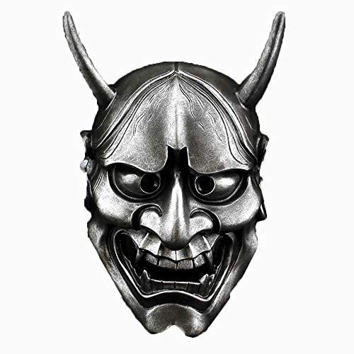 YAJAN-masks Halloween Maske Sammleredition Cosplay Weiß Ghost Academy Schmetterling Geist Kopf Horror Harz Prajna Maske Prom Kostüm Party Komfort Bequeme Persönlichkeit Cool