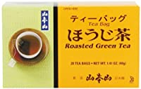 Yamamotoyama Roasted Green Tea Houjicha, 1.41-Ounce Boxes (Pack of 6)