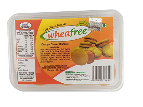 Wheafree Gluten Free Orange Cream 200g
