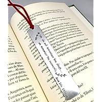 Punto de libro personalizado