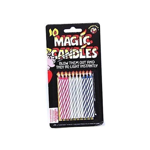 Scherzartikel-MAGIC-CANDLES-verblffend