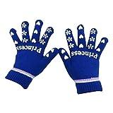 Eastlion Kinder Warm Handschuhe Fünf Finger gestrickte Handschuhe Schreiben Handschuhe