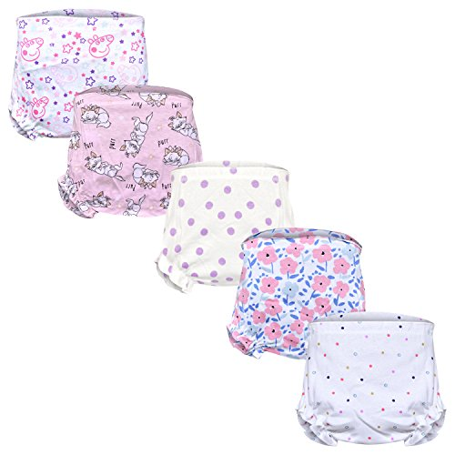 MYKID Cotton Bloomer For Baby Boy & Baby Girl - Pack of 5