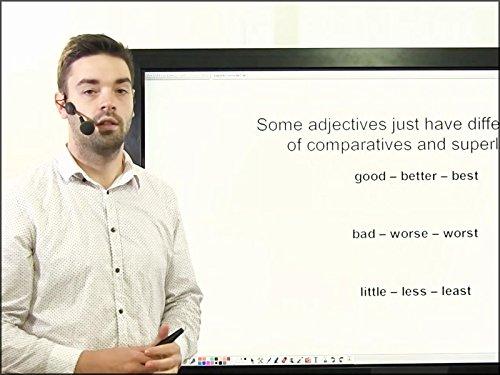 Lektion 8 - Ajektive. Komparativ und Superlativ. Farben.