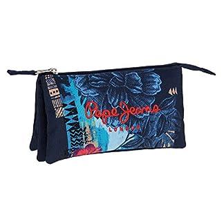 Pepe Jeans Mangrove Neceser de Viaje, 1.32 litros, Color Azul