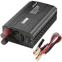 Inversor de corriente 500 W, convierte DC 12 V a 220 V AC coche inversor