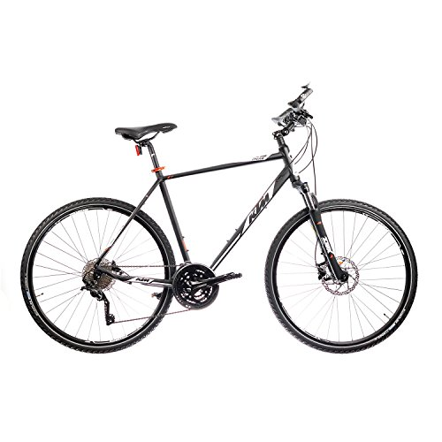 KTM-Itero-Cross-Herren-28-Zoll-Crossbike-30Gang-Trekkingrad-Scheibenbremsen-2017-FarbeSchwarz-MattRahmenhhe56-cm