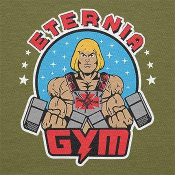 Texlab–Eternia Gym–sacchetto di stoffa Oliva