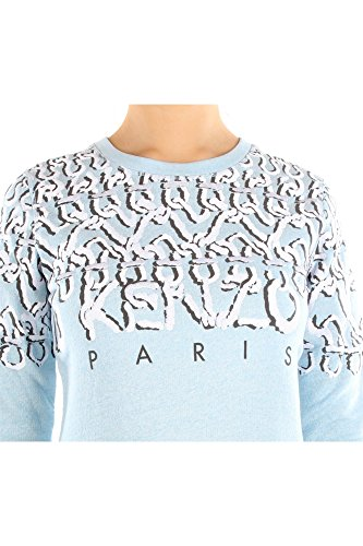 1659531SW80267K01 Kenzo Pulls Molletonnés Femme Coton Céleste Céleste