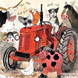 Alex Clark Roter Traktor & Bauernhof Tiere jeden Anlass Karte