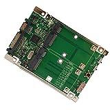 Syba 6,3cm SATA auf mSATA SSD Adapter grün