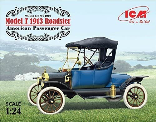ICM 1/24 Model T 1913 Roadster  24001 - Plastic Model Kit by ICM | Supérieure