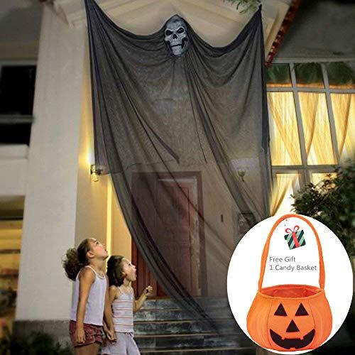Morbuy Halloween Deko Hängenden Gespenst Geist Gruselig 3m -