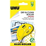 Uhu Dry & Clean Roller 50465 Colle Applicateur Permanent Jetable Jaune