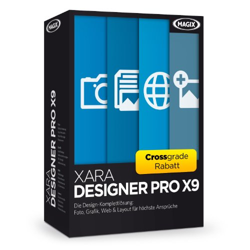 Xara Designer Pro X9 Crossgrade