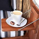 Strandkorb Pure Comfort XL Single - Klapptisch