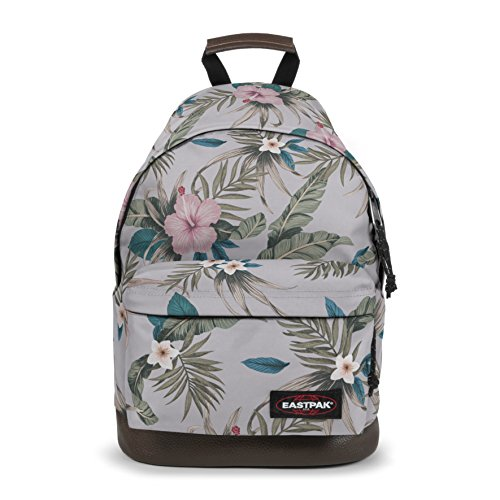 Eastpak Wyoming Zaino Casual, 24 Litri, Grigio (Sunday Grey) Multicolore (Pink Brize)